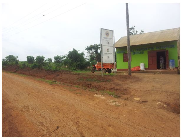 The leadership of Myanzi ACE in Mubende District through the use of the FACT methodology has been able to lobby the LG authorities of Mubende to construct an access road for easy transportation of produce from farmers to the ACE stores for bulking